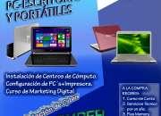 servicio técnico de computadoras, portátiles, minilaptops,