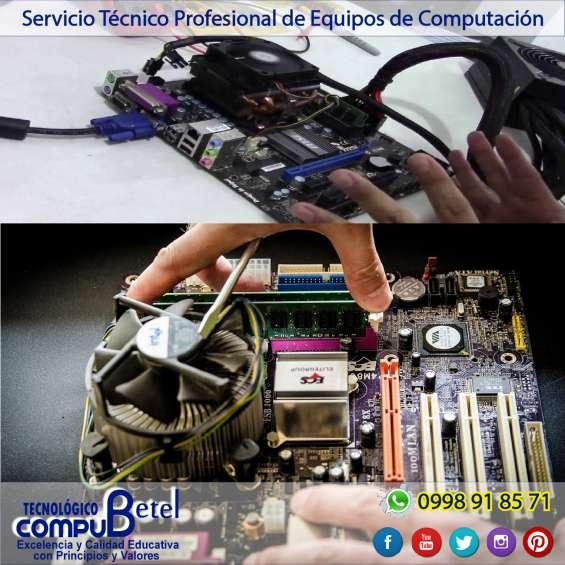 Servicio tecnico (compu betel-sangolqui)