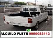 FLETE PEQUEÑAS MUDANZAS  SOLO GUAYAQUIL 0959082112