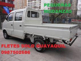 Camioneta a su disposicion dentro de gye 0987502686