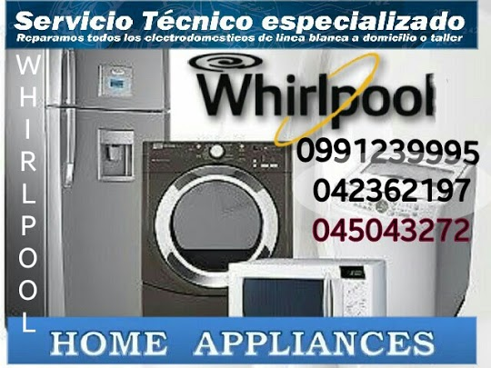 Servicio técnico 0991239995 general electric/whirlpool samborondon