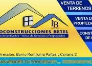 Vende tu casa con Inmoconstrucciones Betel.