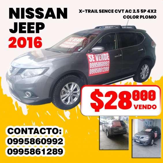 Vendo nissan jep 2016