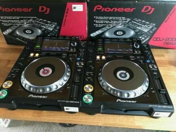 Nuevos pioneer dj cdj2000nxs2 mixer $700usd navidad venta