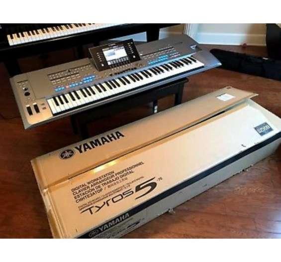 Nuevos yamaha tyros 5 61keys teclado $1000 navidad venta