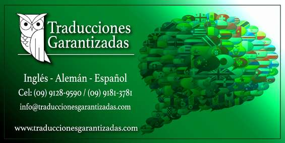Traducciones garantizadas 2020!
