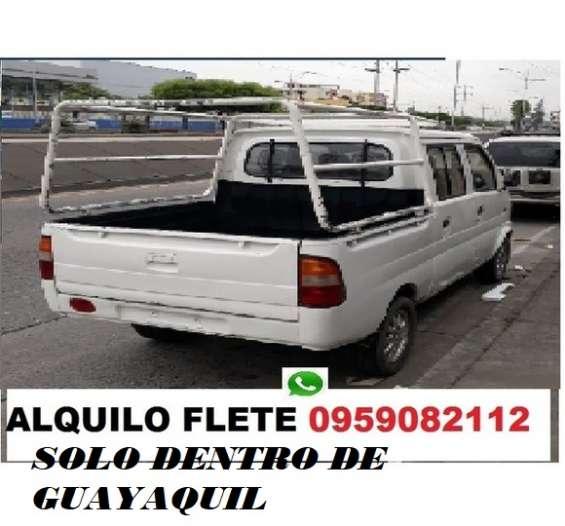 No pierdas tiempo camioneta flete pequeñas mudanzas solo guayaquil 0959082112