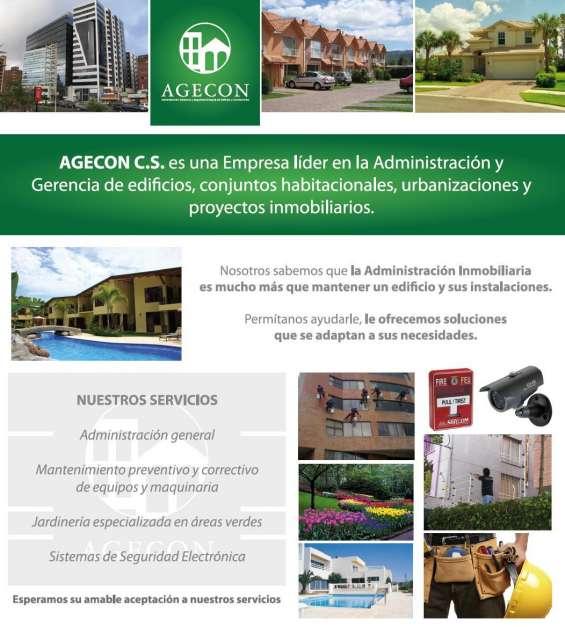 Agecon administración, gerencia y seguridad de edificios urbanizaciones y condominios